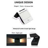 China 20 LED Outdoor Solar Power Security Wall Light for Patio / Deck / Garage on sale