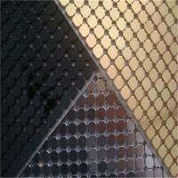 Cheap Decorative Aluminum Sequins Fabric Mesh For Table Cloth / Table Runner for sale