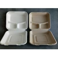 Quality 3 Compartment Biodegradable Disposable Microwave Fast Food Container wholesale