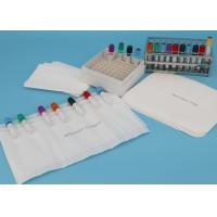 Quality Customized size Absorbent Pouches And Sheets For Transporting 7-Tube Lab Specimens wholesale