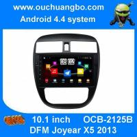 Quality Ouchuangbo touch screen android 4.4 system DFM Joyear X5 2013 with car radio gps bluetooth free chile map wholesale
