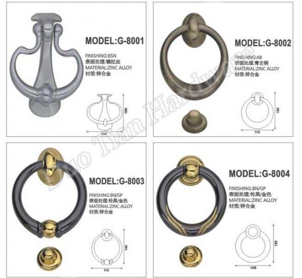 Cheap Door Knocker (G-8001,8002,8003,8004) for sale