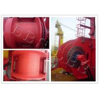 Quality Single Drum Slow Speed 45kn 50kn Rated Load Electric Winch for Hoist and Marine Use wholesale