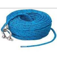 Quality Blue polypropylene auto tow rope automatic tow rope towing car rope with shackle wholesale