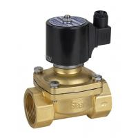 Quality Brass 2 Inch Gas Solenoid Valve , Solenoid Valve Gas Shut Off 50mm Low Pressure wholesale