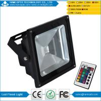 China IP65 Outdoor RGB Multi Colour Changing IR/RF Remote Control LED Flood Light Lamp 50W on sale