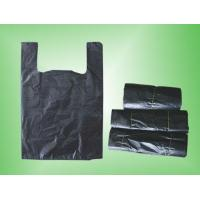 Quality Black t-shirt bag on roll wholesale