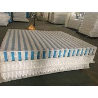 High Carbon Steel Wire Mattress Pocket Spring Unit With Non Woven Fabric Cover