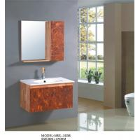 Quality Acrylic board color Square Sinks Bathroom Vanities hanging 4 / 5 mm silver glass mirror wholesale