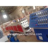 Quality XINYAO Twin Screw PVC Pipe Extrusion Line One Mould with Four Die Cavity wholesale