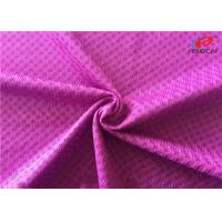 China Polyester Sports Mesh Fabric For Lining , Moisture Wicking Tricot Fabric on sale