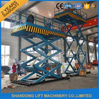 Buy cheap 2T 7m Portable Lift Hydraulic Lift Scissor Lift Table with CE from wholesalers