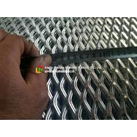 Quality Low Carbon Galvanized Expanded Metal Mesh Diamond Shape Hole For Wall Construction wholesale