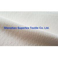 Quality Coat  Cotton Nylon Jacquard Crepe Silk Print Fabric In Offwhite Or Printed wholesale
