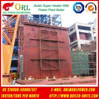 Quality 10T - 1000 Ton CFB Boiler Petrochemical Biomass Industry Superheater Coils High / Low Pressure wholesale