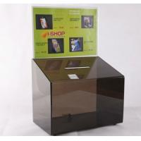 Cheap Acrylic Suggestion box, Acrylic Donation & Ballot Box for sale