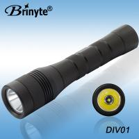 China Brinyte CREE XML-U2 Tempered Glass Aluminum Rotary Switch High lumen Diving Torch BR-DIV 01 on sale