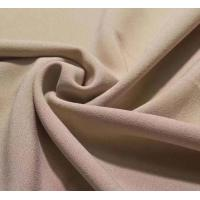 Quality 4 way stretch single side crepe lycra dress fabric 92/8 polyester lycra stretch one side brushed fleece design garment f wholesale