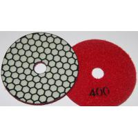 Cheap Diamond Dry polishing pads in premium quality 80mm 100mm 125mm for sale