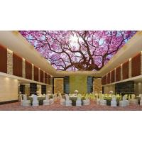 Quality Waterproof Bamboo Fiber Lightweight Ceiling Panels Cherry Blossoms Crystal Surface wholesale