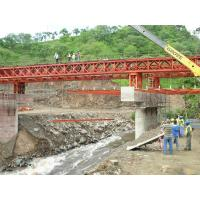 Quality Bailey Steel Timber Deck Bridges High Stiffness With Heavy loading  for sale