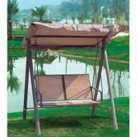 Quality 168x134x175cm swing chair, cover made of textilene and polyester wholesale