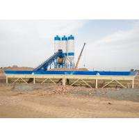 China 60m3/h belt type sand cement mixing machine automatic concrete batching plant italy on sale