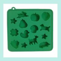 China muti-animal shape silicone ice trays ,ice cube silicone baking trays on sale
