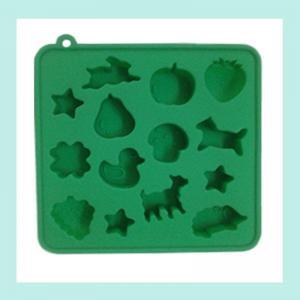 Quality muti-animal shape silicone ice trays ,ice cube silicone baking trays wholesale