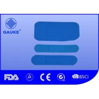 Quality Small Blue Wound Care Bandages For Wound Healing Elastic Fabric Material wholesale