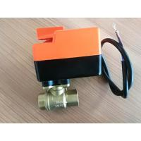 Quality Water Proof 2 Way / 3 Way Fcu Motorized Valve , Fan Coil Unit Components wholesale