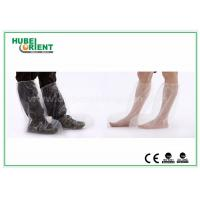 Quality Plastic Disposable Shoe Cover Outdoor / Waterproof Rain Boot Cover For Hospital wholesale