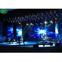 Quality P3.91 Music Show Ultra Thin Led Video Wall Rental Waterproof Hanging Structure wholesale