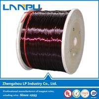 China Class 180 Polyamide-imide gauge enamel coated magnet wire on sale