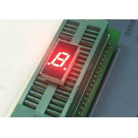 China 0.3 inch  single digit display red color CA low power 7 segment display with wide viewing angle on sale