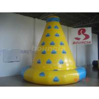 Quality 0.9mm (32oz) Durable PVC Tarpaulin Inflatable Water Climbing Tower wholesale