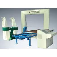 China Auto CNC Foam Contour Machine Cutter With Moving Table , Brake System on sale