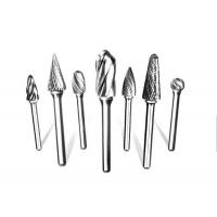 Buy cheap Single Cut Tungsten Carbide Rotary Burr For Iron / Carbon / Stainless Steel Machining from wholesalers