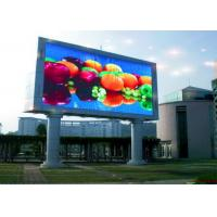 Quality Custom IP68 SMD 3 In 1 P10 Outdoor LED Billboard Panel For Railways / Airports wholesale