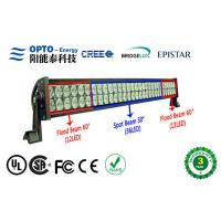 Quality High Intensity Waterproof Cree LED Light Bars 120W For Truck Lighting, 9-30VDC Military car Lighting wholesale