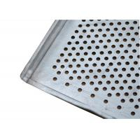 Quality Flat And Perforated Aluminium Baking Tray With Raised Edges 20mm Tray Height wholesale