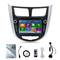 Quality 7 inch touch screen HYundai Verna Car stereo with GPS navigation radio audio bluetooth wholesale