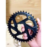 Quality Aluminum CNC Machining Parts 32T 34T 36T 38T Bike Single Chainring for 9 10 11 Speed wholesale