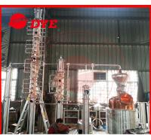 Quality Steam Heating Copper Distiller System 3MM Thickness , Diy Reflux Still wholesale
