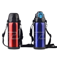 Quality BSCI Double Wall SUS 201 Thermos Vacuum Insulated Bottle wholesale