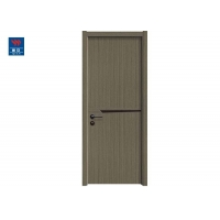 China Wholesale Decorative Modern MDF Single Eco-Friendly Wooden Door Bedroom Design For House on sale
