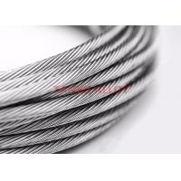 Quality 19*0.16mm Stranded Thermocouple Extension Wire / Type N Thermocouple Wire wholesale