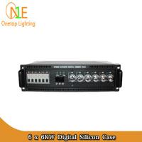 China 6 × 6KW Digital Silicon Case 6CH*6KW Digital DMX Silicon case for meeting room light on sale