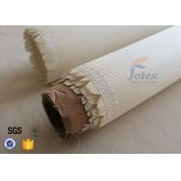 Quality 600g Break Twill Satin Fiberglass High Silica Fabric For Fire Welding Blanket wholesale