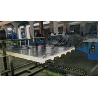 Quality Color steel Continuous Polyurethane Sandwich Panel Making Line With High Press Foaming wholesale